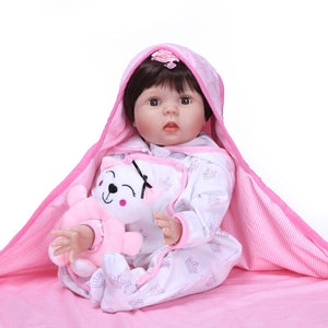 "22"" Blink Lifelike Baby Doll Ginny"