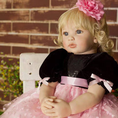 24 Inches Fashion Lifelike Baby Girl Doll Princess