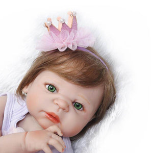 Fashion Silicone Full Body Baby Girl Doll-Banydoll