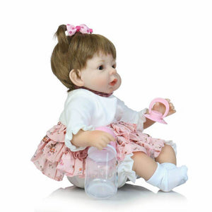 Funny Plait Reborn Girl Doll-Banydoll
