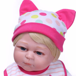 Funny Reborn Baby Girl Doll with Pal-Banydoll