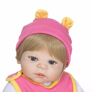 Funny Reborn Girl Doll with Pal-Banydoll
