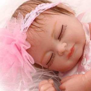 Gorgeous Truly Reborn Doll With Party Dress-Banydoll