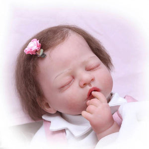 Banydoll happy deer reborn baby doll sleeping head