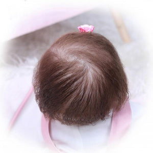 Banydoll happy deer reborn baby doll hair