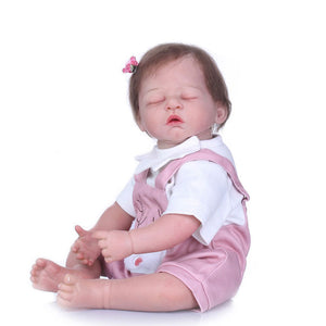 Banydoll happy deer reborn baby doll sleeping