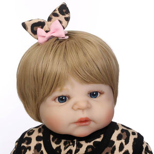 Leopard Print Girl with Her Cart-Banydoll
