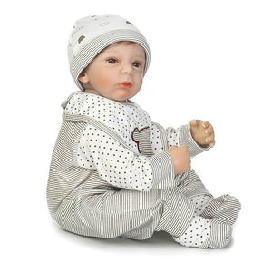 Lifelike Baby Boy Tyson & Bear Doll-Banydoll