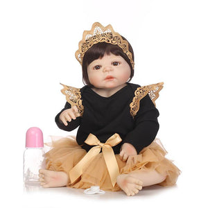 Little Princess - 22 inch Silicone Full Body Reborn Baby-Banydoll
