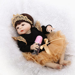 "Little Princess - 22"" Full Silicone Reborn Baby"