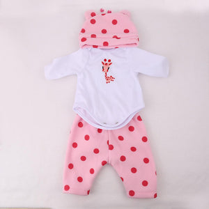 Banydoll Lovely Giraffe Cloth Set for 16 inches Reborn Baby Dolls