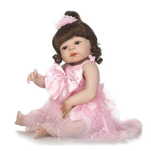 Perfect Olive Baby Doll in Pink Dress-Banydoll