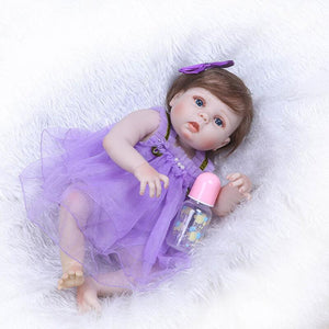 Realistic Purple Dress Baby Doll Minnie-Banydoll