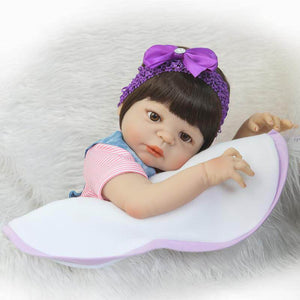 Realistic Reborn Girl Doll Lacey with Baby Bottle-Banydoll