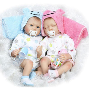 So Lifelike Reborn Twins Doll Aiken & Aikin-Banydoll