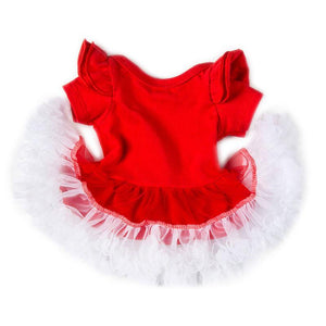 Santa Claus Dress for Reborn Baby Dolls-Banydoll