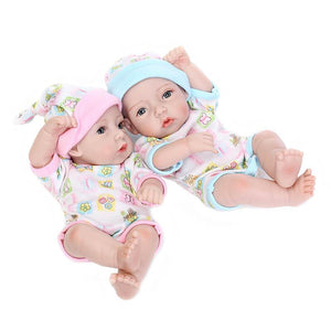 Twin Babies - The Baby Basket Free-Banydoll