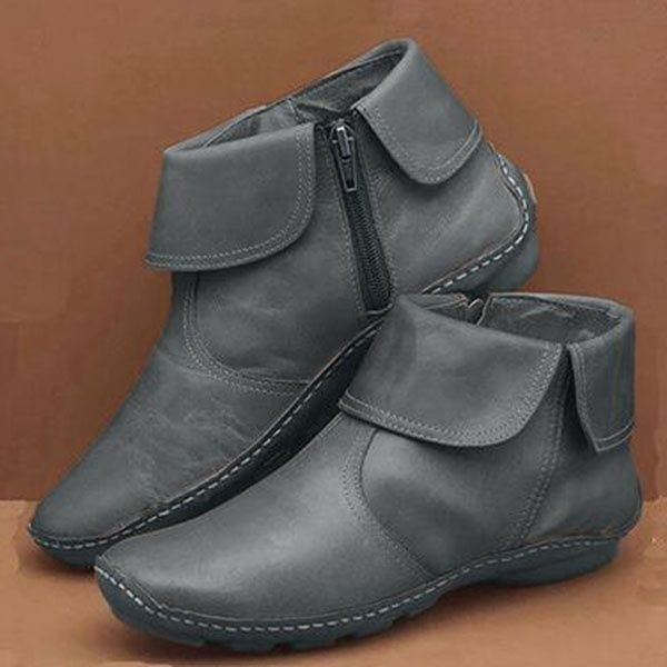 2020 WOMEN'S MARTIN LEATHER ANKLE CASUAL BOOTS