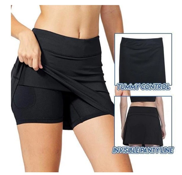 ANTI-CHAFING ACTIVE SKIRT - SUPER SOFT & COMFORTABLE