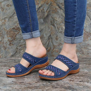 2020 Women Summer Open Toe Vintage Sandals
