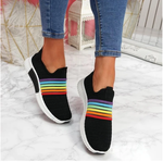 2020 Women's Breathable Mesh Casual Arch Support Sock Sneakers