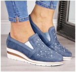 2020 WOMEN BREATHABLE SLIP-ON PLATFORM SNEAKERS (Multiple versions)
