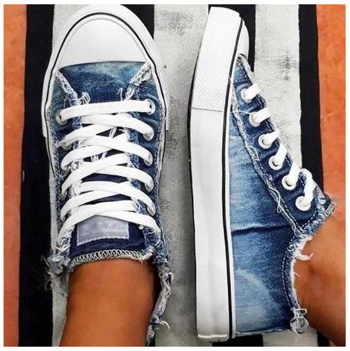 Fashion Lace-up Canvas Shoes