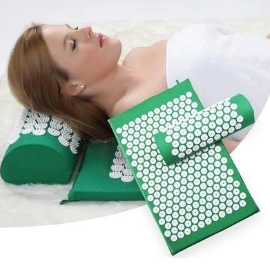 Relaxing Acupressure Yoga Mat and pillow set