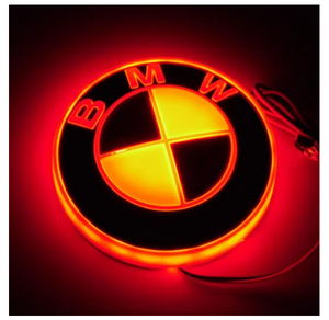 🚗4D Car Logo Badge LED Light✨For The Front And Back