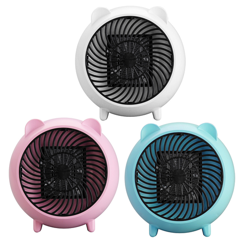 Portable Electric Ceramic Space Heater - Personal Heating Warmer Fan