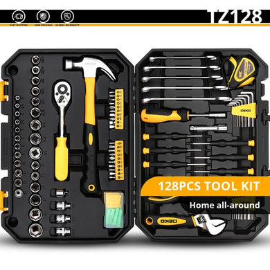 Repair Hand Tool Kit with Plastic