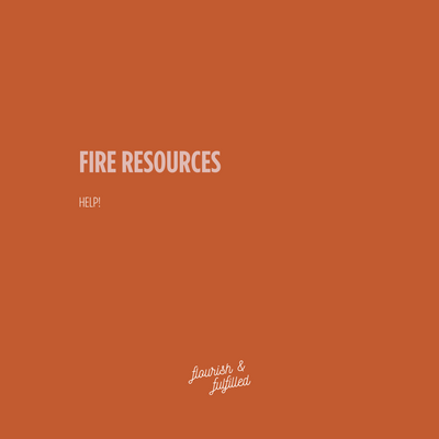 Australian FIRE AID Resources