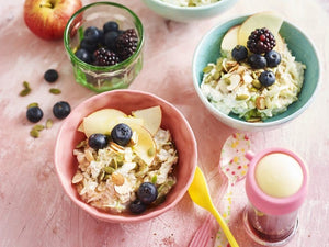Berry Bircher kid friendly recipe from My Kids Eat Volume 2|Berry Bircher kid friendly recipe from My Kids Eat Volume 2