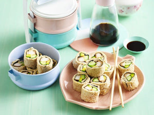 Chicken Sushi Rolls from My Kids Eat Volume 2! RECIPE BOOK COMING SOON!