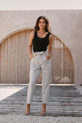 Cruise Pant - Stone SG x Cleo Harper Collection