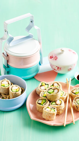 Chicken 'Sushi' Rolls | Sophie Guidolin