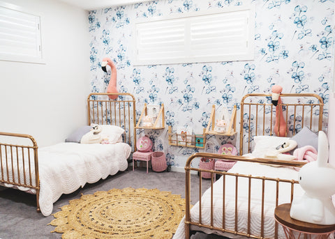 Evie & Aria Room Reveal | Sophie Guidolin