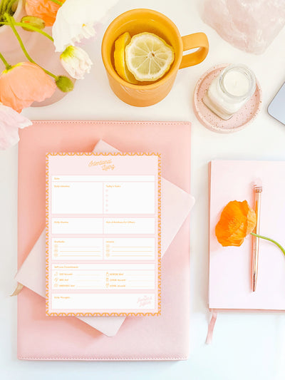 Flourish & Fulfilled Gratitude Planner