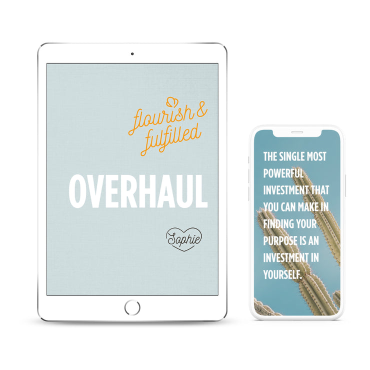 Overhaul Flourish & Fulfilled | Digital Edition