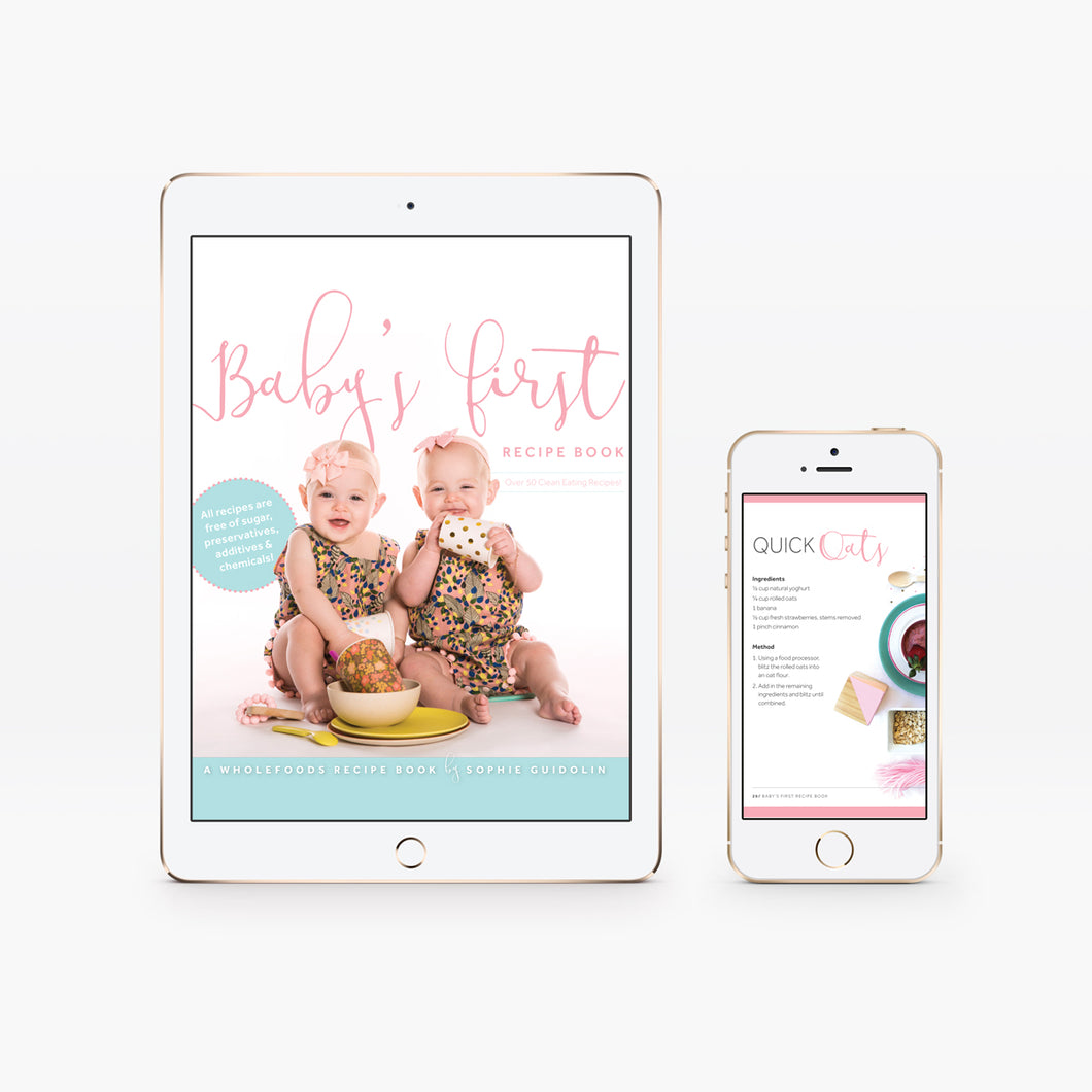 Baby's First Recipe Book - Digital Edition | Sophie Guidolin