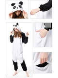 Womens Panda Costume Pajamas Onesies for Adult