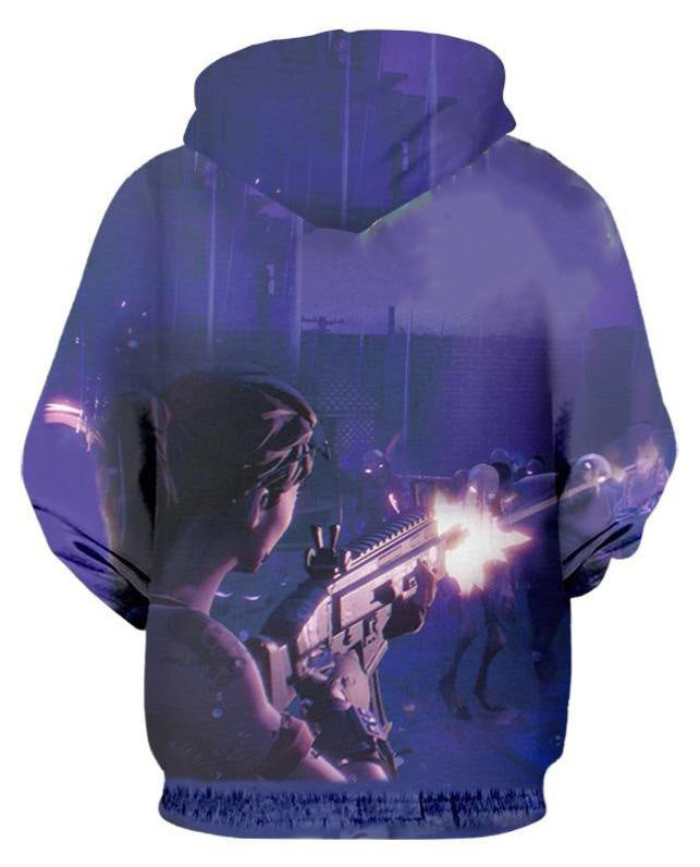 Fortnite Sweatshirt Pullover Hoodie For Kids Adult
