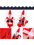 Christmas Santa Claus Riding Dog Cosplay Outfit