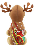 Pet Dog Christmas Costume Reindeer