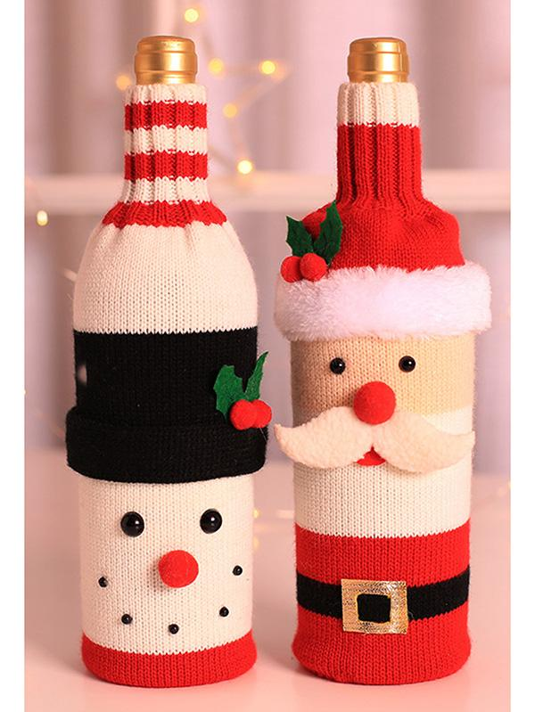 Christmas Wine Bottle Cover Sweater Party Decoration
