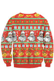 Santa Claus Pattern-Red