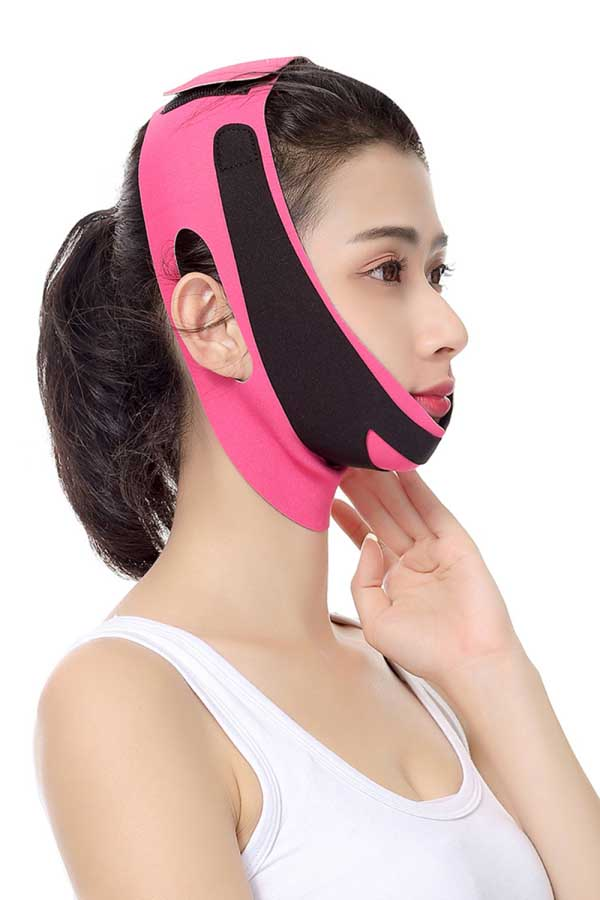 Adjustable V-Line Facial Slimming Strap Lift Up Bandage Cheek Lift Band