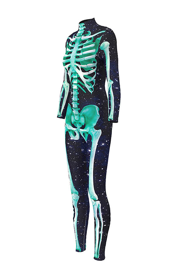 Galaxy Skeleton Print