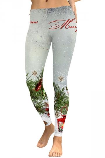 Merry Christmas Snowflake Leggings Gary