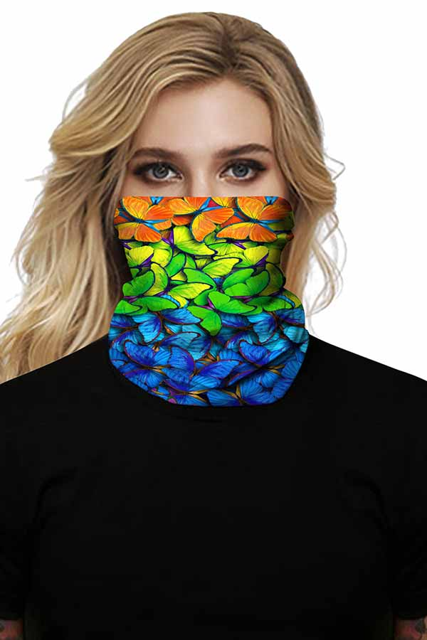 Unisex Neck Gaiter Outdoor Windproof Multifunctional Shield Scarf